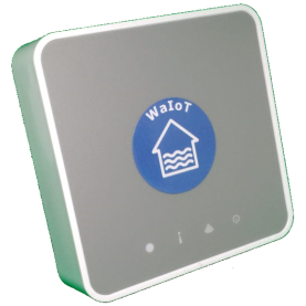 WaIoT basic kit including a SmartHub and a FlowMeter